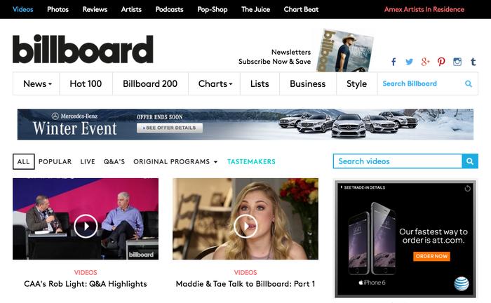 Billboard.com 3