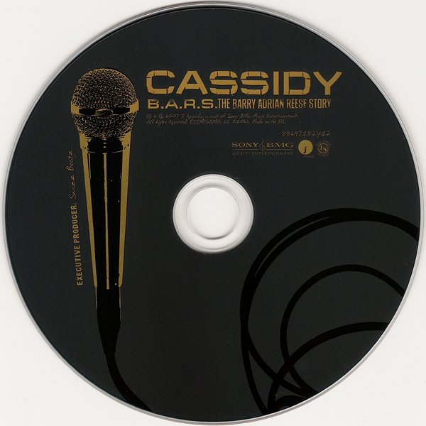 Cassidy – B.A.R.S. The Barry Adrian Reese Story album art 2