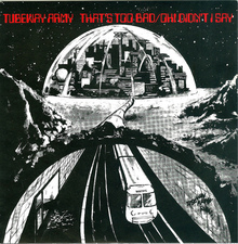 "Tubeway Army – ""That's Too Bad"" / ""Oh! Didn't I Say"" single cover"