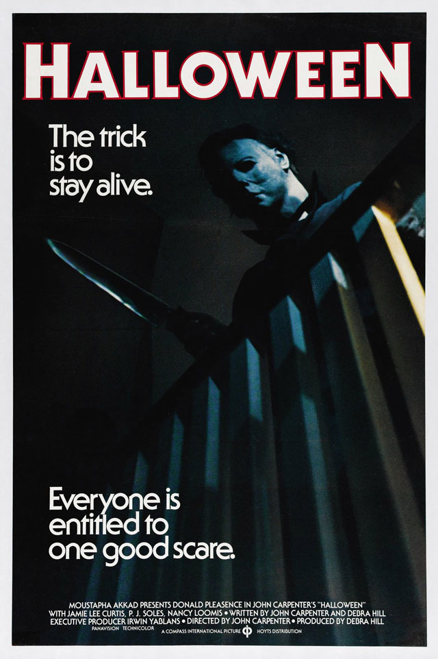 Halloween film titles and marketing - Fonts In Use