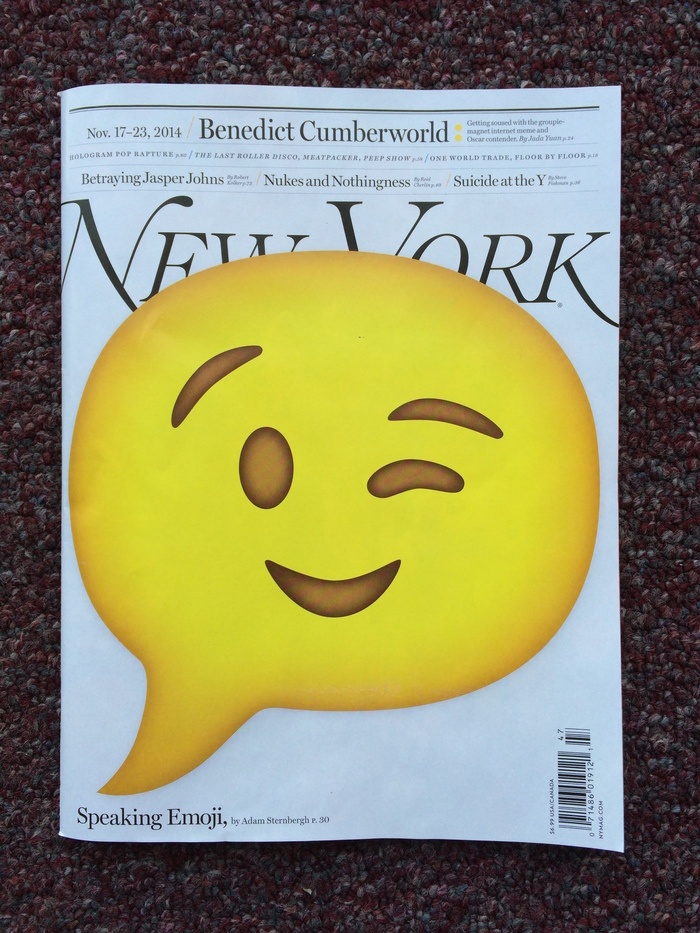 New York magazine, Nov 17–23 2014 1