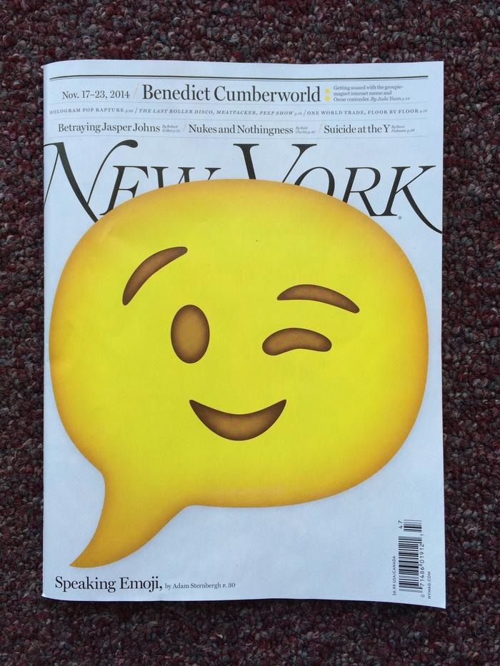 New York magazine, Nov 17–23 2014 1