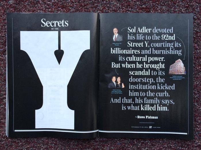 New York magazine, Nov 17–23 2014 5
