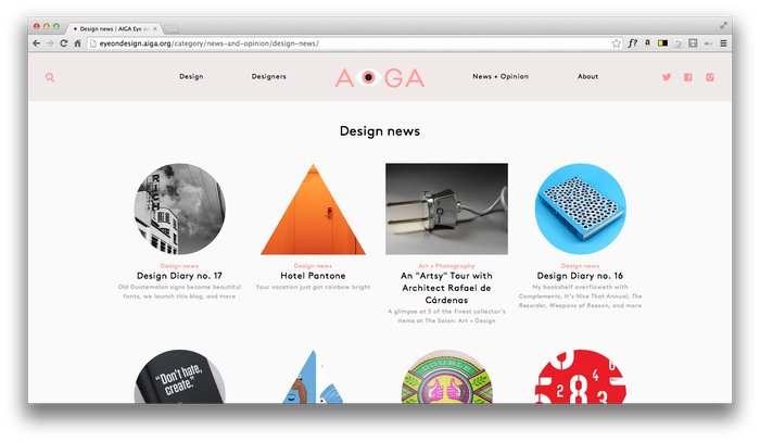 Eye On Design: AIGA Blog 2