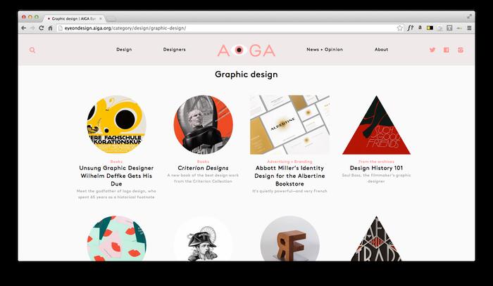 Eye On Design: AIGA Blog 6