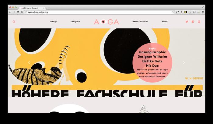 Eye On Design: AIGA Blog 10