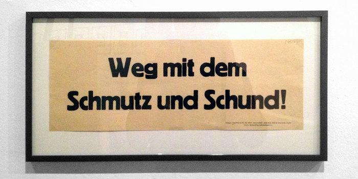 """""""Weg mit dem Schmutz und Schund!"""" KPÖ campaign"""