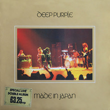 Deep Purple – <cite>Made In Japan</cite> album art