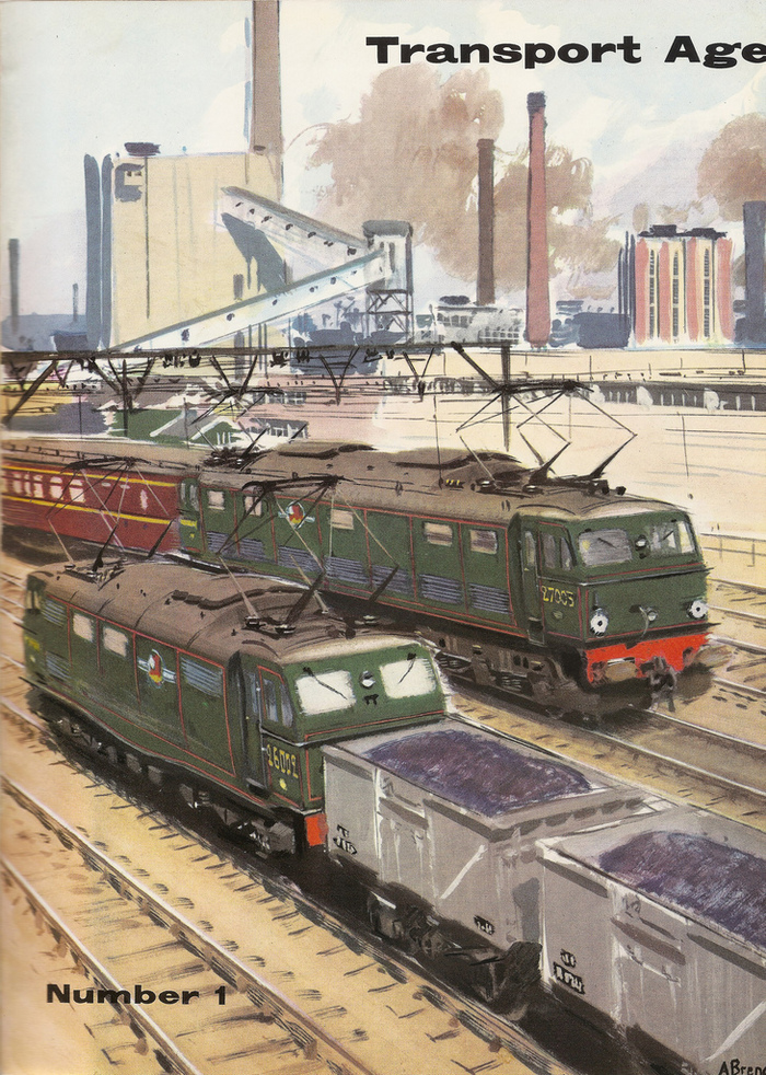 Transport Age magazine covers 1