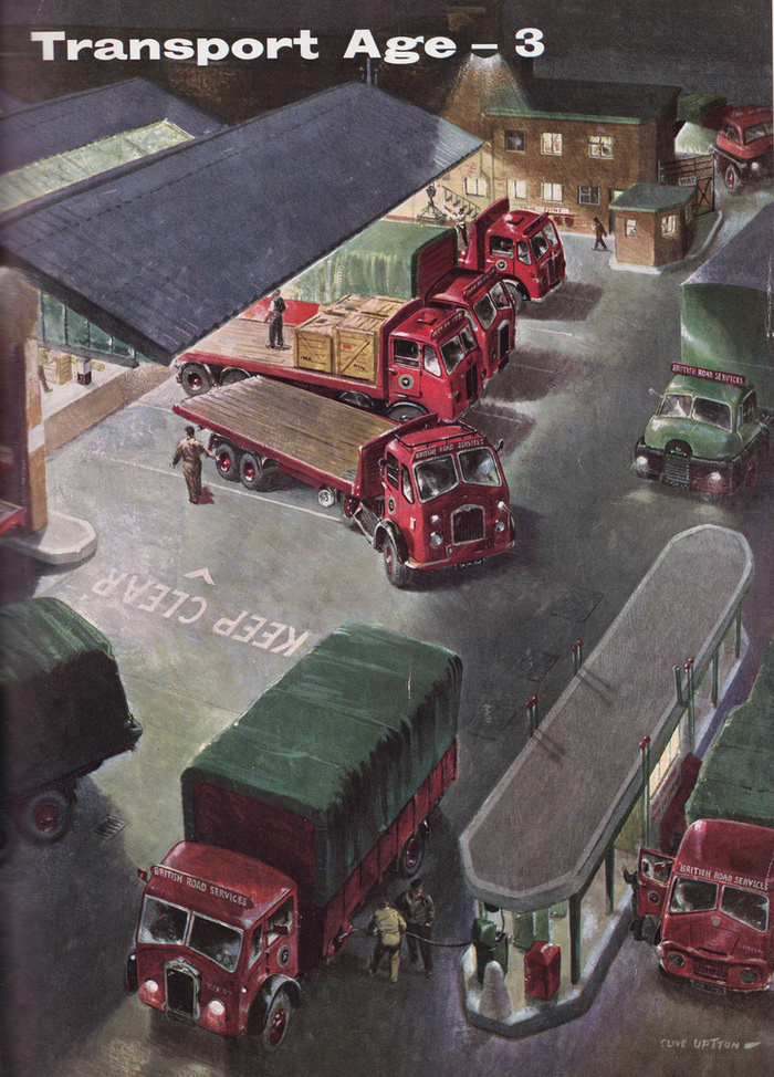 Transport Age magazine covers 2