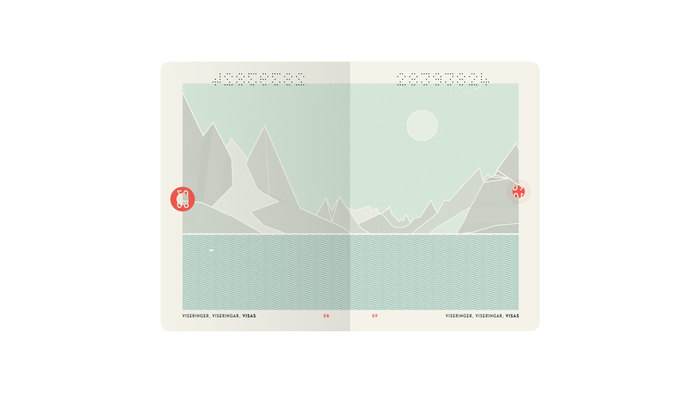 Norway Passport (2014 winning proposal) 2