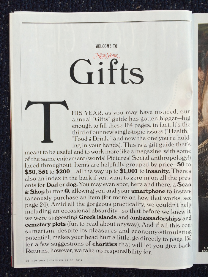 New York magazine holiday gift guide 2014 6