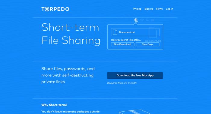 Torpedo website