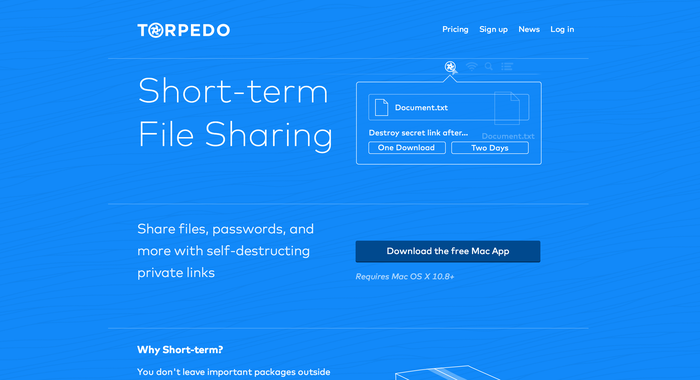 Torpedo website