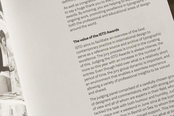 ISTD – 2014 International Typographic Awards catalogue 6