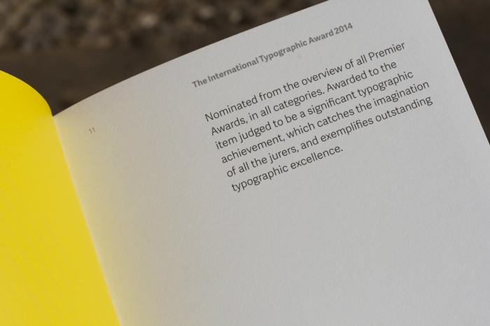 ISTD – 2014 International Typographic Awards catalogue 5