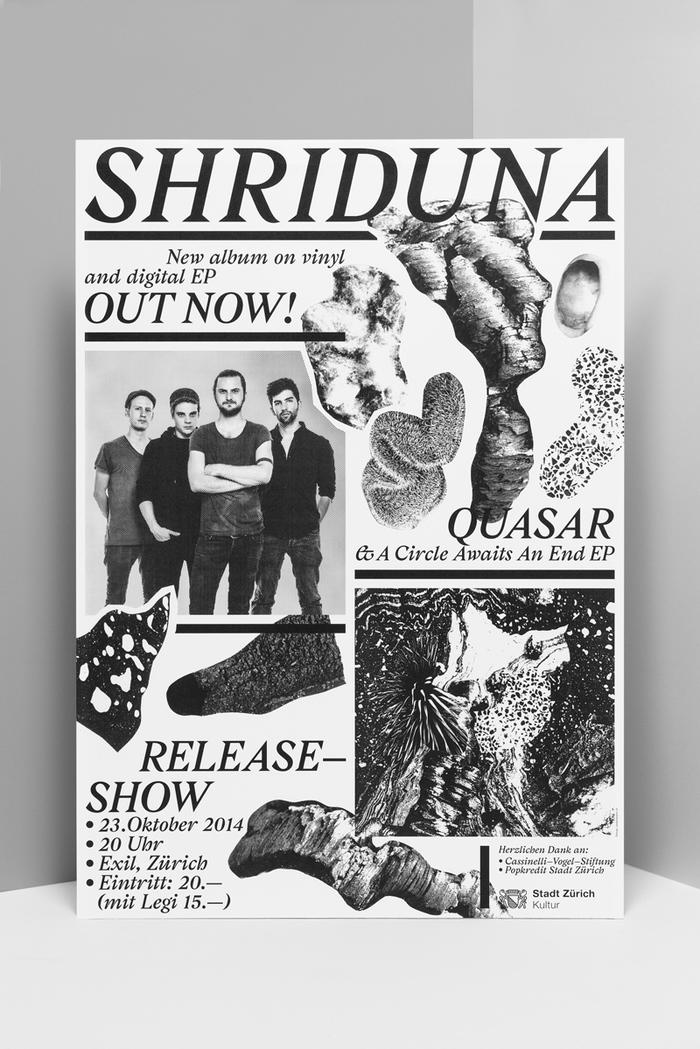 Shriduna Record Sleeve & Poster 7