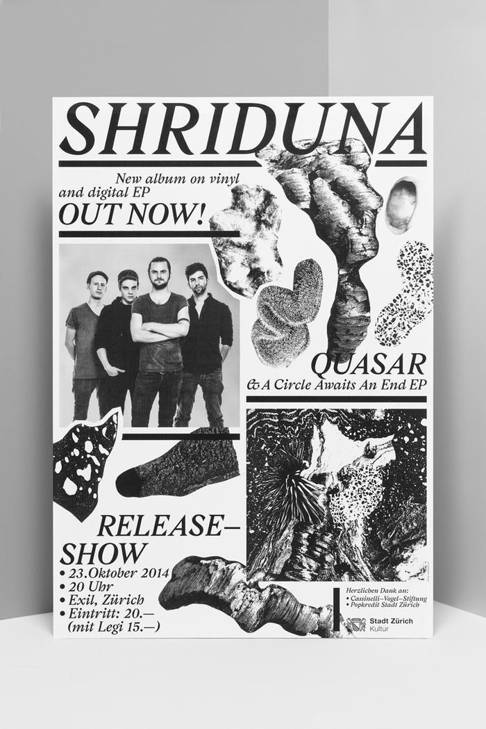 Shriduna Record Sleeve & Poster 7