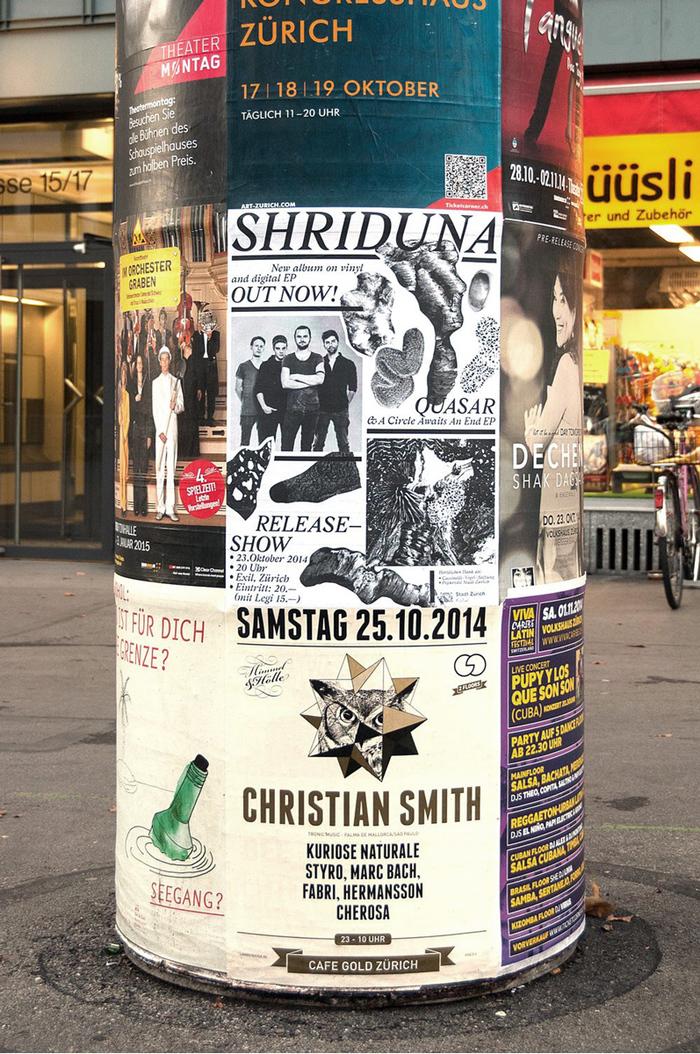 Shriduna Record Sleeve & Poster 8