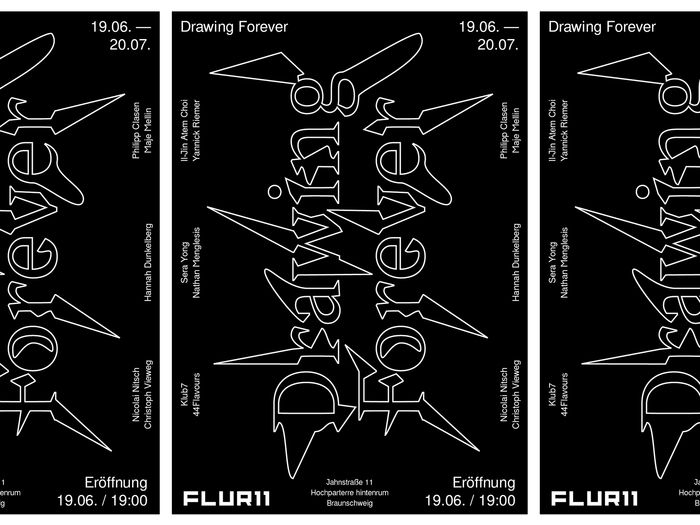 Drawing Forever exhibition poster 2