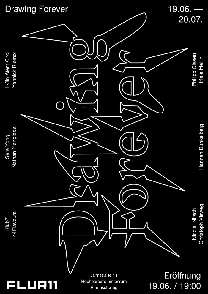 Drawing Forever exhibition poster 3