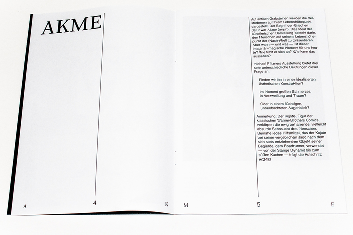 AKME exhibition flyer and catalogue 4