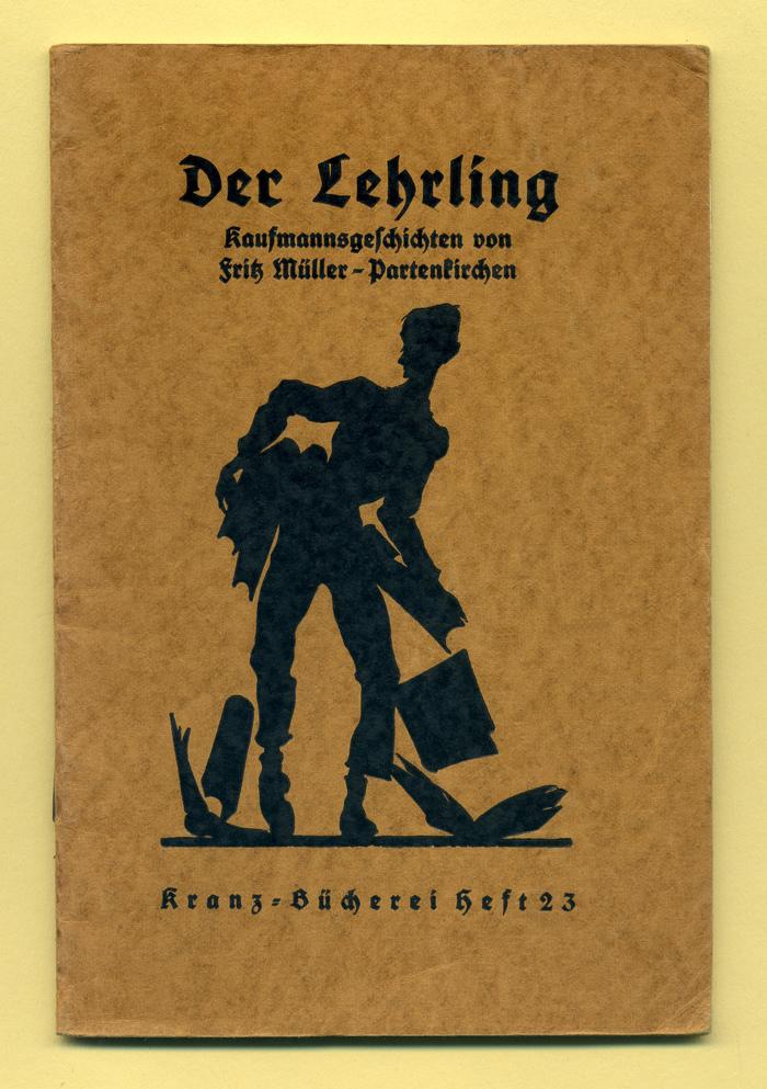 Der Lehrling by Fritz Müller-Partenkirchen