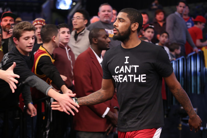 """I Can't Breathe"" NBA player protest shirts 1"