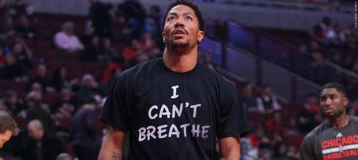 """I Can't Breathe"" NBA player protest shirts 3"