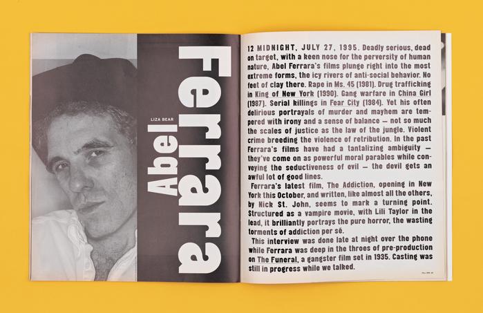 BOMB magazine (1995) 3