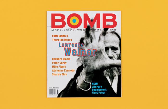 BOMB magazine (1995) 1