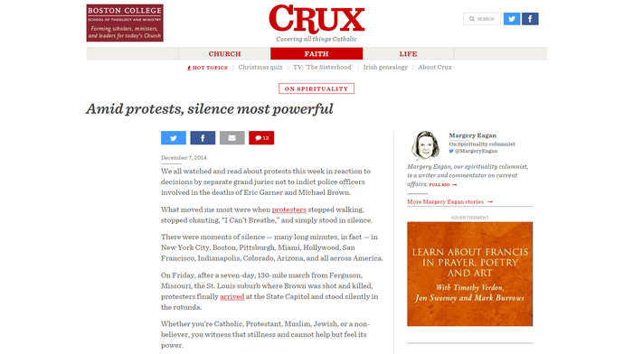 Crux: Covering all things Catholic 1