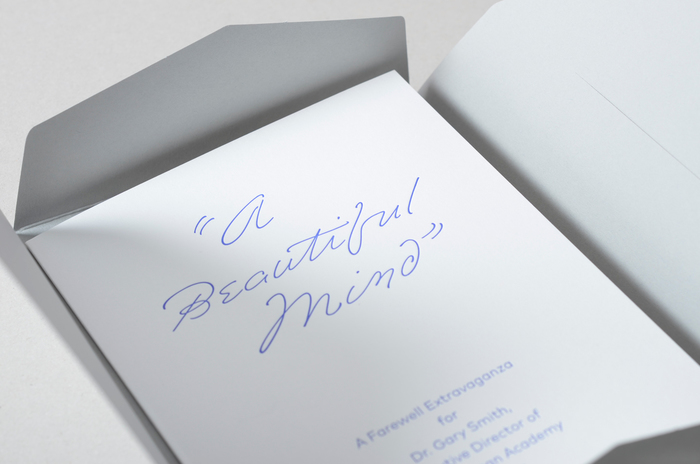 Invitation in folder