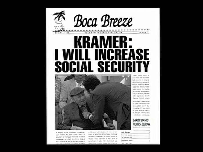 Boca Breeze newsletters in Seinfeld 2