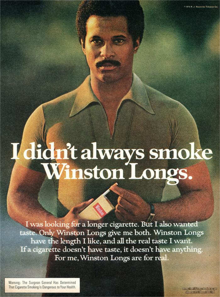 Winston Cigarettes ads (1970s) 2