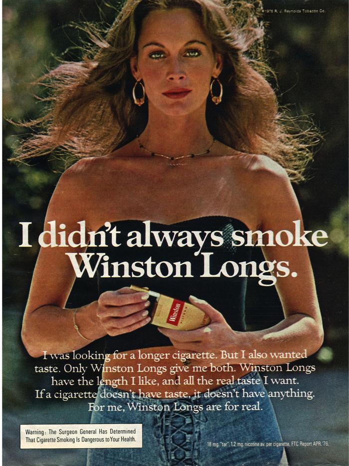 Winston Cigarettes ads (1970s) 4