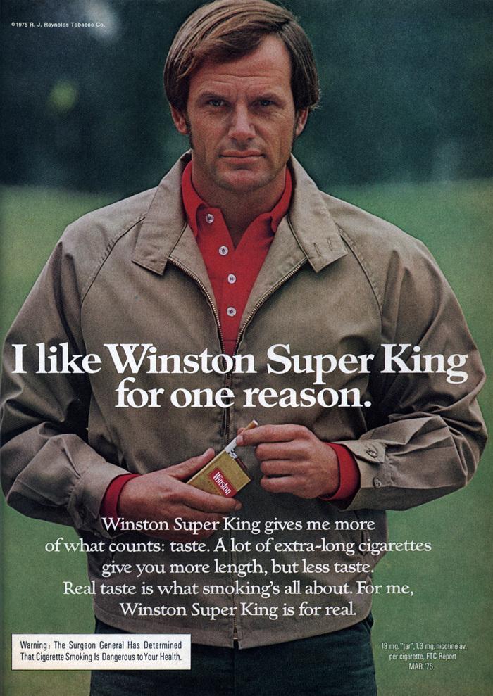 Winston Cigarettes ads (1970s) 5