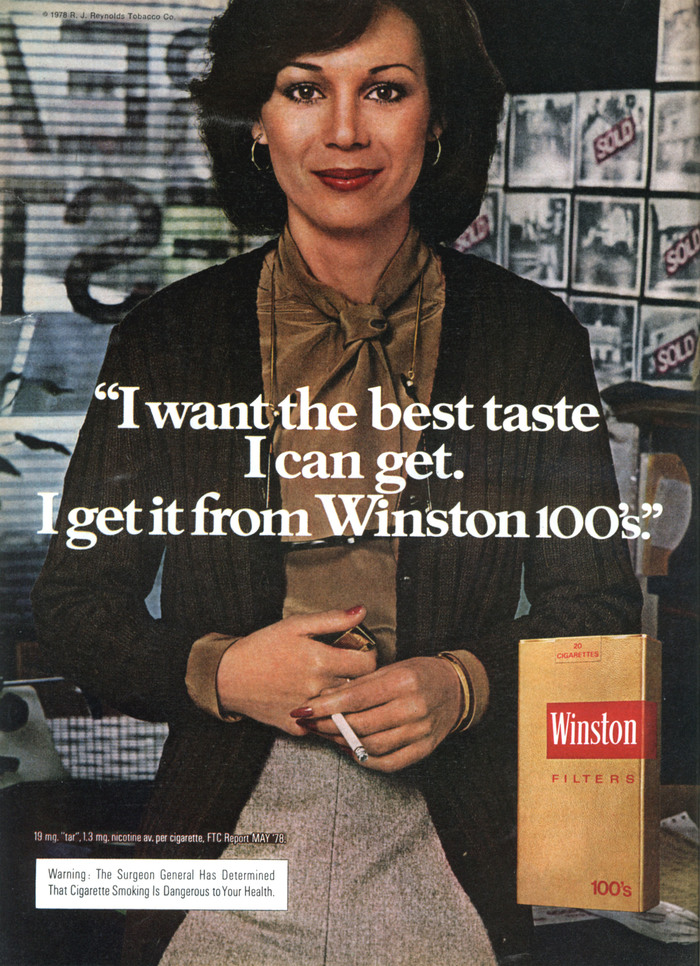 Winston Cigarettes ads (1970s) 6