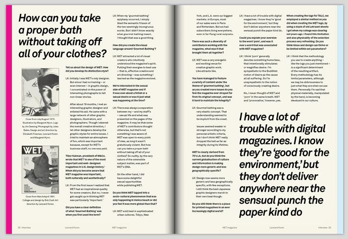 Talc Magazine 3