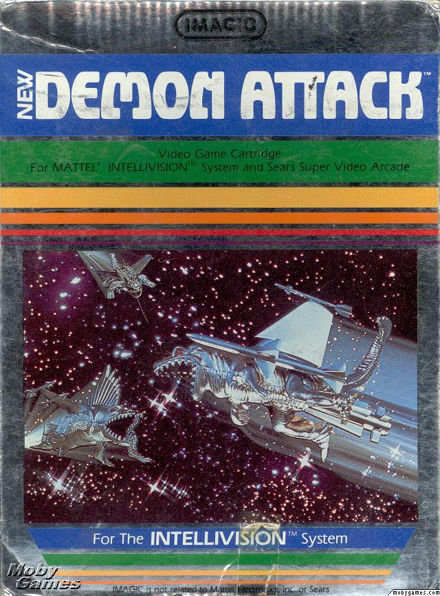 Imagic's New Demon Attack video game 1