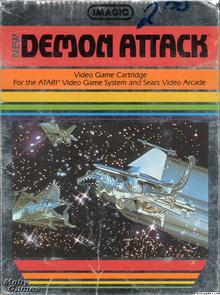 Imagic's <cite>New Demon Attack </cite>video game