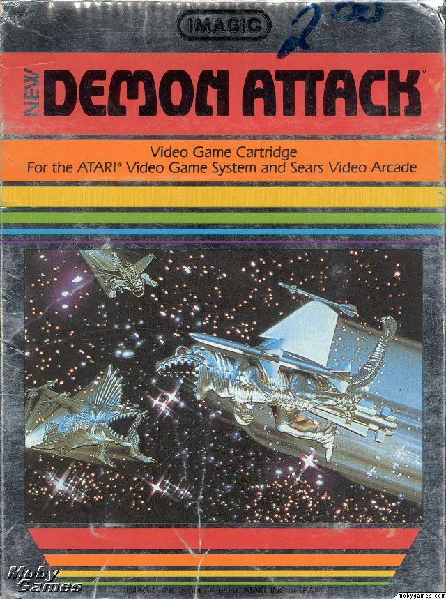 Imagic's New Demon Attack video game 2