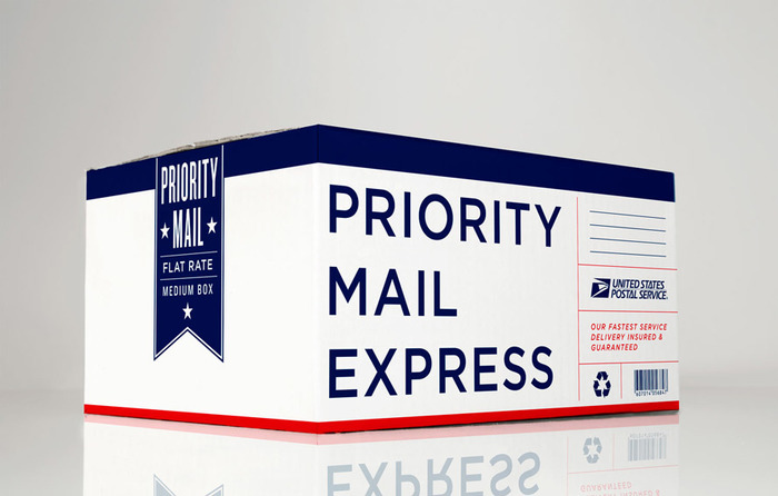 Unused proposal for USPS propriety boxing.