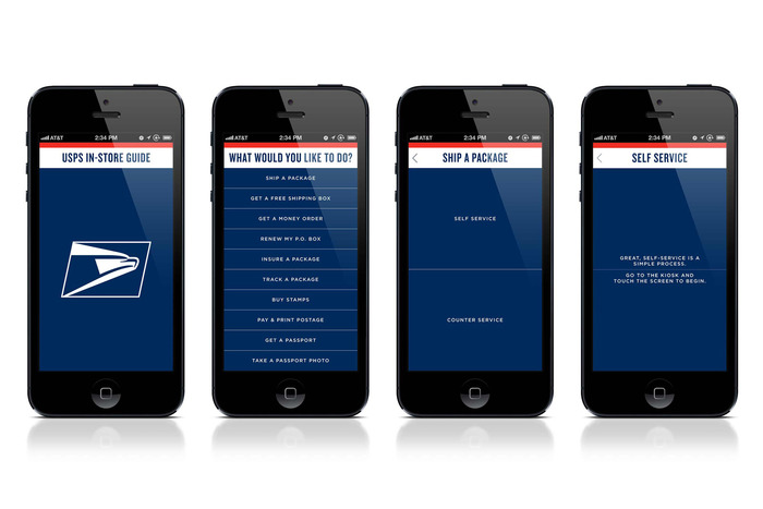 USPS signage & identity redesigns (2013) 9
