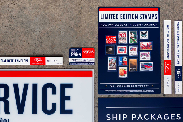USPS signage & identity redesigns (2013) 7