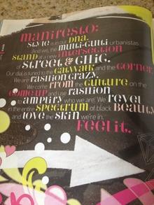 <cite>Suede</cite> magazine