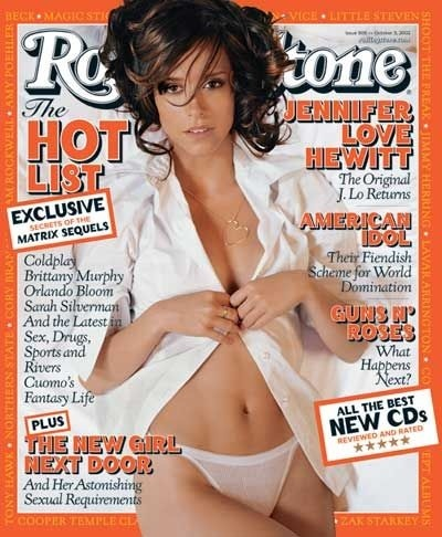 Rolling Stone, April and October 2002 2