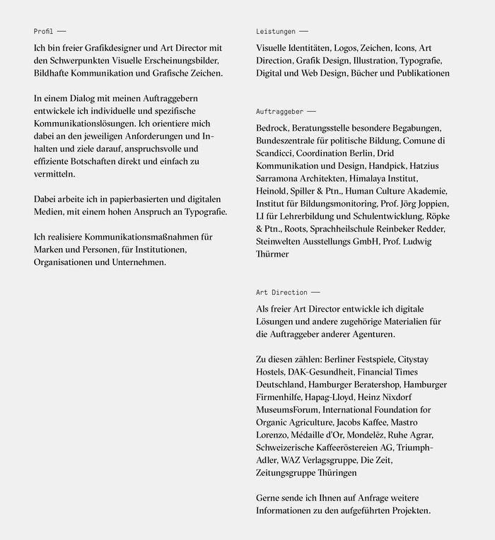 Jens Windolf – Grafikdesign und Art Direction 5