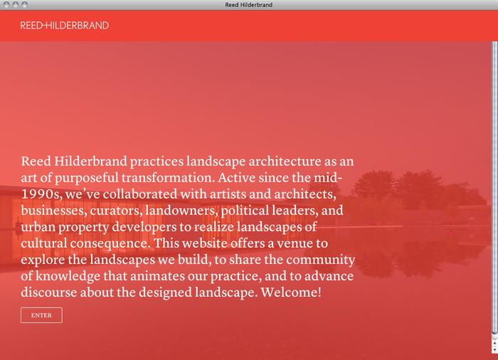 Reed Hilderbrand website 1
