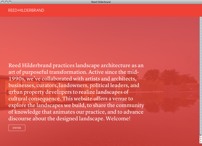 Reed Hilderbrand website 1